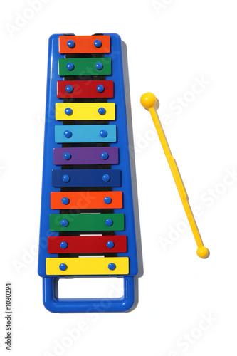 Leinwanddruck Bild xylophone