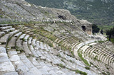 section - great theater in ephesus