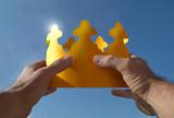 dem ganzen die krone aufsetzen poster