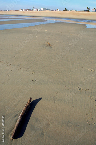 stick on beach