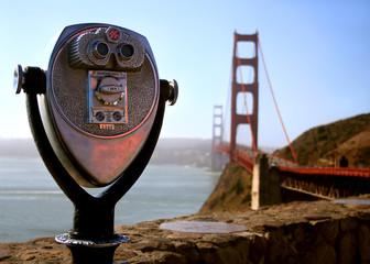 binoculars @ golden gate