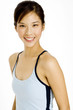 smiling fitness instructor