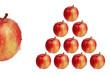 pyramide de pommes