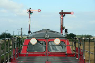 der autozug nach westerland auf sylt