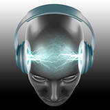 Fototapety the dj sound