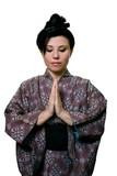 quiet prayer or meditation poster