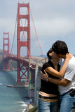 romantic kiss poster