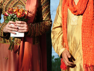 inter-cultural wedding