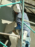plastering,stucco poster