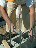mason, bricklayer, poster
