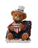 patriotic bear poster