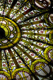stained glass dome poster