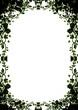 floral photo frame illustration