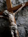 jesus cross poster