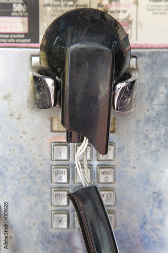 broken pay phone