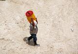 day laborer under summer heat poster