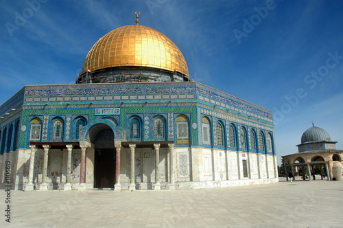 dome of the rock - north