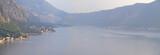 panorama of boka kotorska bay, montenegro poster