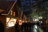 Fototapety marché de noël