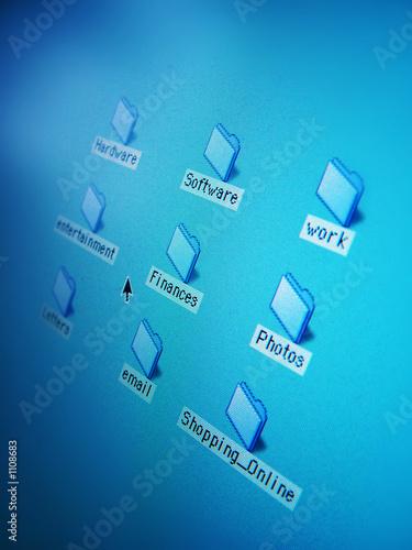poster of desktop folders