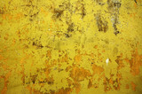 yellow wall - perfect grunge background poster