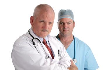 serious medical professionals