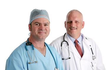 friendly medical team