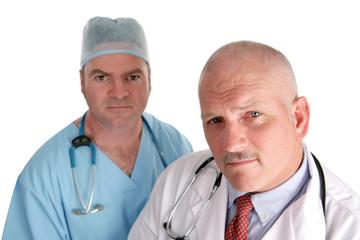 worried medical team