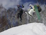 Fototapeta skiercross race an'npurri 19-3-2006