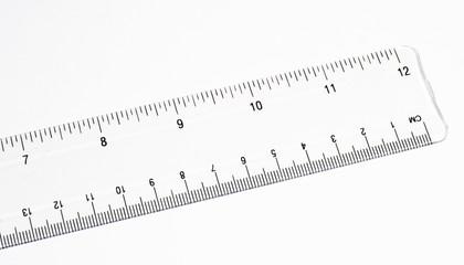 clear ruler