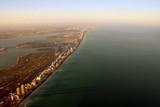 Aerial Miami view poster