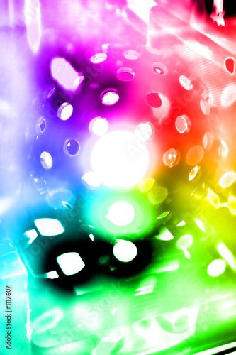 Poster disco of light