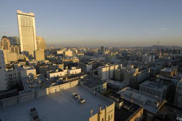 downtown san francisco dusk