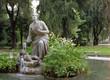 pincio gardens, villa borghese, rome