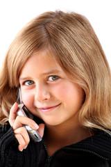 enfant  téléphone