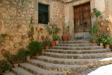 treppe in valldemossa