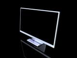 aluminium lcd monitor poster