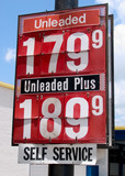 high gas prices poster