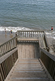 stairs to the beach poster
