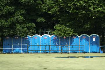 street toilets
