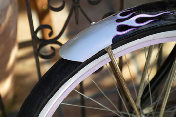 cruiser bike mudguard