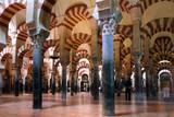 arches in mezquita in cordoba poster