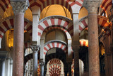 arches in the mezquita poster