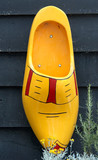 wooden shoe poster