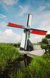 windmill landscape poster