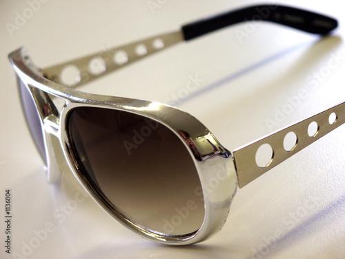 Leinwanddruck Bild elvis brille