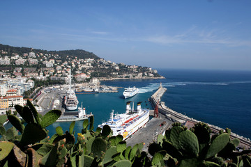 harbour in nice
