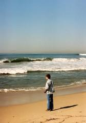 boy on a beach 2