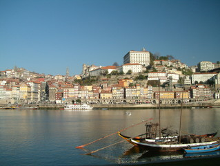 porto old town - duoro embankment