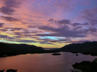 derwentwater sunset
